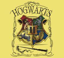 Hogwarts Alumni school Harry Potter  Kids Tee