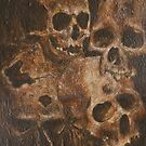 Four Skulls by Paul Woods Copyright 2014  by Paul Woods