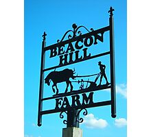 Beacon Hill Farm Photographic Print
