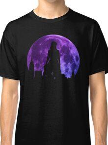 Motoko Kusanagi Moon Anime Manga Shirt Classic T-Shirt
