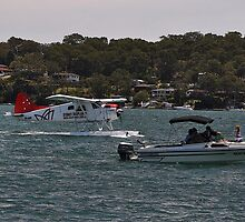Beaver & Speedboat, Catalina Festival, Australia 2013 by muz2142