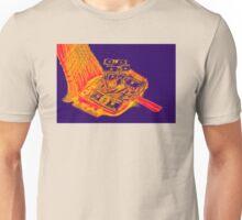 Broom Sweeping Up American Currency Pop Art Unisex T-Shirt