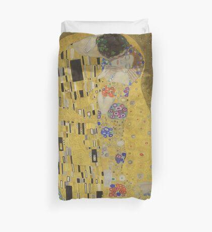 The Kiss - Gustav Klimt Lovers - Duvet Cover Cushion T-Shirt Dress Skirt Bag Sticker Scarf Duvet Cover