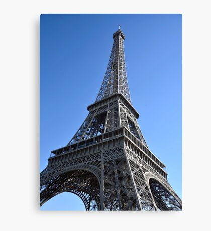 The Iconic Eiffel Tower Canvas Print