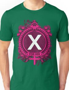 FOR HER - X Unisex T-Shirt