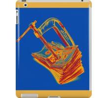 Clamp putting pressure On American Money Concept Pop Art iPad Case/Skin