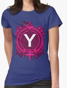 FOR HER - Y Womens Fitted T-Shirt