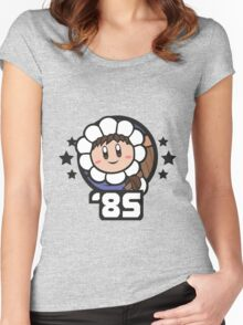 Video Game Heroes - Ice Climber: Popo (1985) Women's Fitted Scoop T-Shirt
