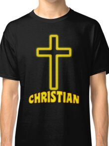 Jesus Christ Son of God Lord Christian Classic T-Shirt