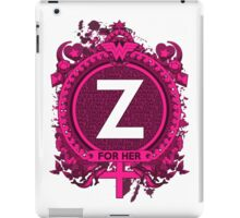FOR HER - Z iPad Case/Skin