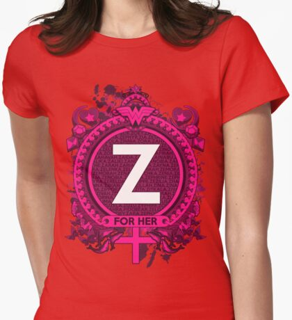 FOR HER - Z Womens Fitted T-Shirt