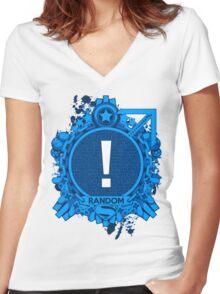 FOR HIM - RANDOM Women's Fitted V-Neck T-Shirt
