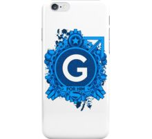 FOR HIM - G iPhone Case/Skin