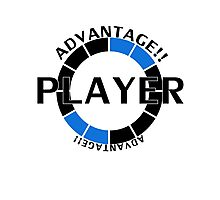 Player! Advantage! Photographic Print