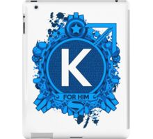 FOR HIM - K iPad Case/Skin