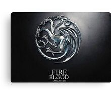 Game of thrones 7 Canvas Print