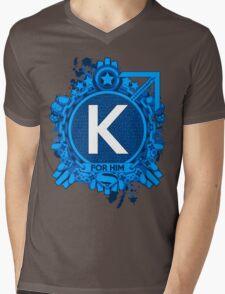 FOR HIM - K Mens V-Neck T-Shirt