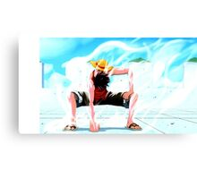 One Piece epic cool monkey d luffy ace epic Canvas Print