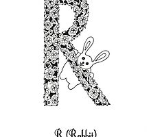 R is for Rabbit by Cat-Igrun
