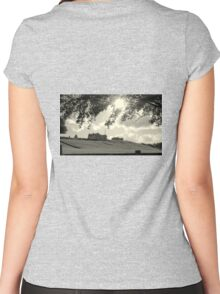 House on the Hill Women's Fitted Scoop T-Shirt