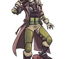 Peacekeeper (Wasteland Ranger) by joey2305