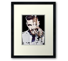 conor mcgregor breakapart Framed Print