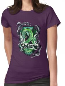Slytherin Womens Fitted T-Shirt