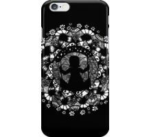 The Swing - Black iPhone Case/Skin