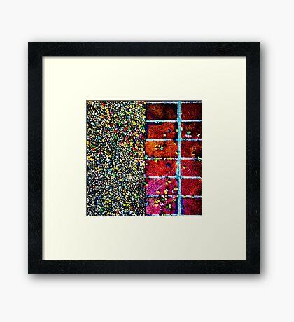 Spilled Jellybeans...  Framed Print