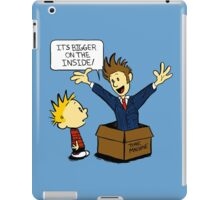 Calvin and the Doctor iPad Case/Skin