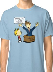 Calvin and the Doctor Classic T-Shirt