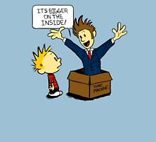 Calvin and the Doctor Unisex T-Shirt