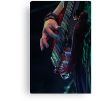 Mad T Party March Hare Bass Canvas Print