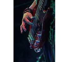 Mad T Party March Hare Bass Photographic Print
