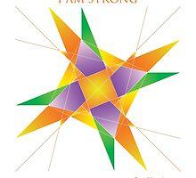 I AM STRONG - YANTRA by foodyogi