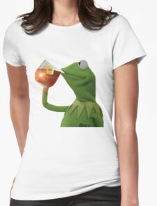 But that's none of my business Womens Fitted T-Shirt