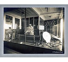 Cabinet Cart: Atkins Saw Co. Display Window Photographic Print