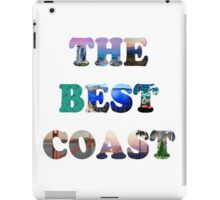 THE BEST COAST iPad Case/Skin
