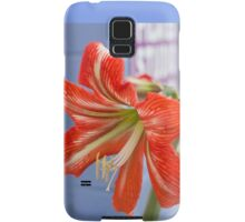 Tania's Happy Hippy plants - Hippeastrum Samsung Galaxy Case/Skin