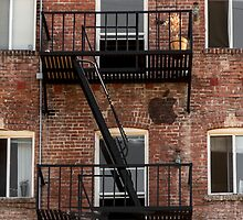 Hollywood Fire Escape by don thomas