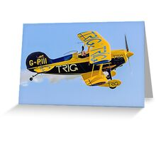 Pitts Waviator Greeting Card