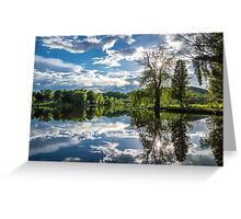 Mirrored Beauty Greeting Card