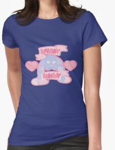 Bunny Baby Womens Fitted T-Shirt