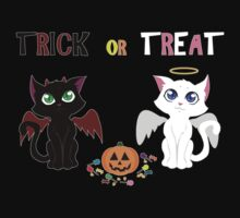 Trick or Treat Kittens Kids Clothes