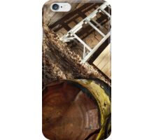 one line iPhone Case/Skin
