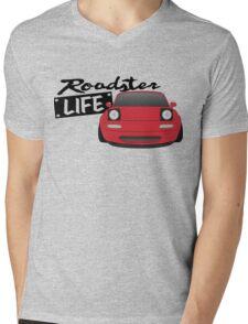 Mazda Miata - Roadster Life Mens V-Neck T-Shirt