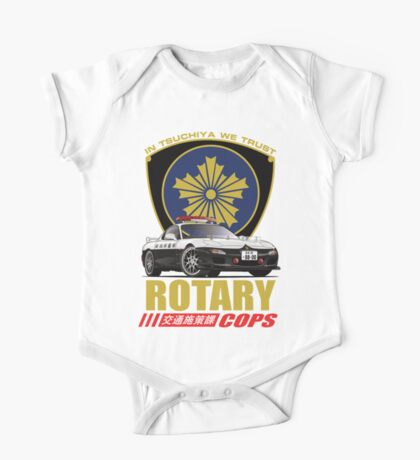 Rotary Cops RX7 FD One Piece - Short Sleeve