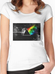 pf Women's Fitted Scoop T-Shirt