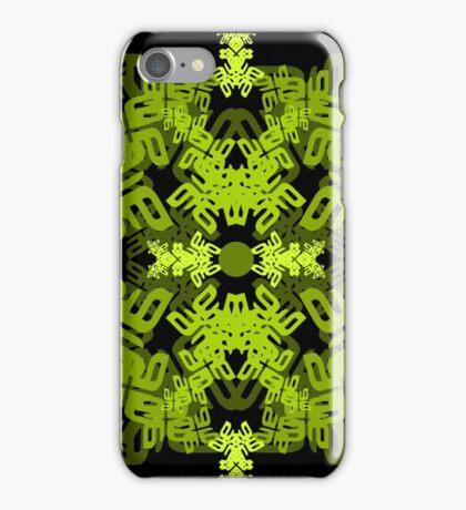 a-e-mirror-leaf iPhone Case/Skin