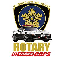 Rotary Cops RX7 FD Photographic Print